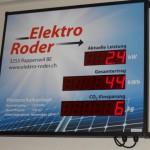 Anzeigetafel Elektro Roder